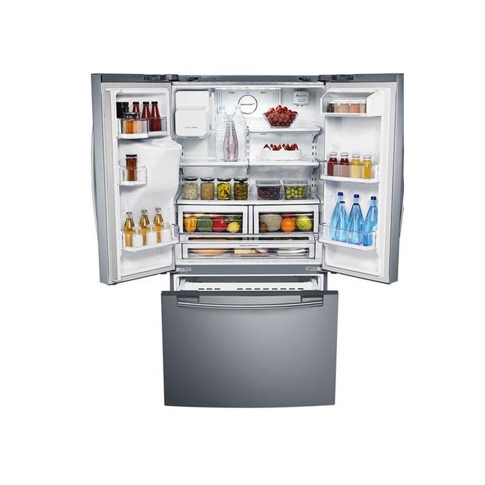 Réfrigérateur Multi Portes Samsung Rfgresl Inox Samsung La Redoute - Refrigerateur multi portes