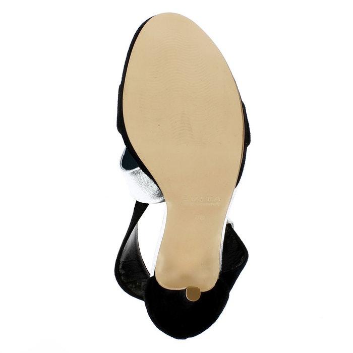 Sandales femme bicolore Evita