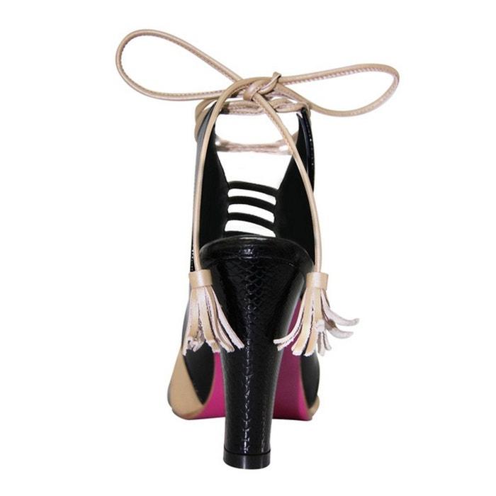 Chaussure femme en cuir kenny Pring Paris