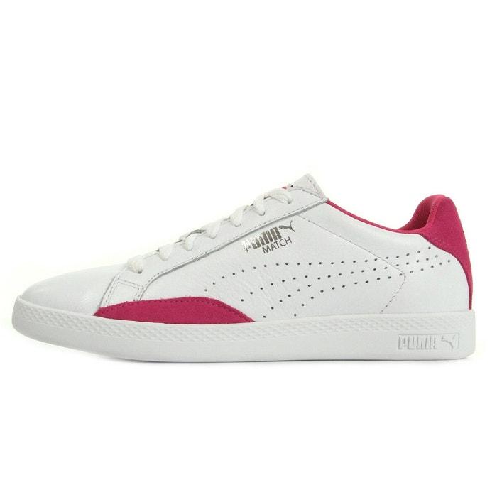 Match lo basic sports blanc rose Puma