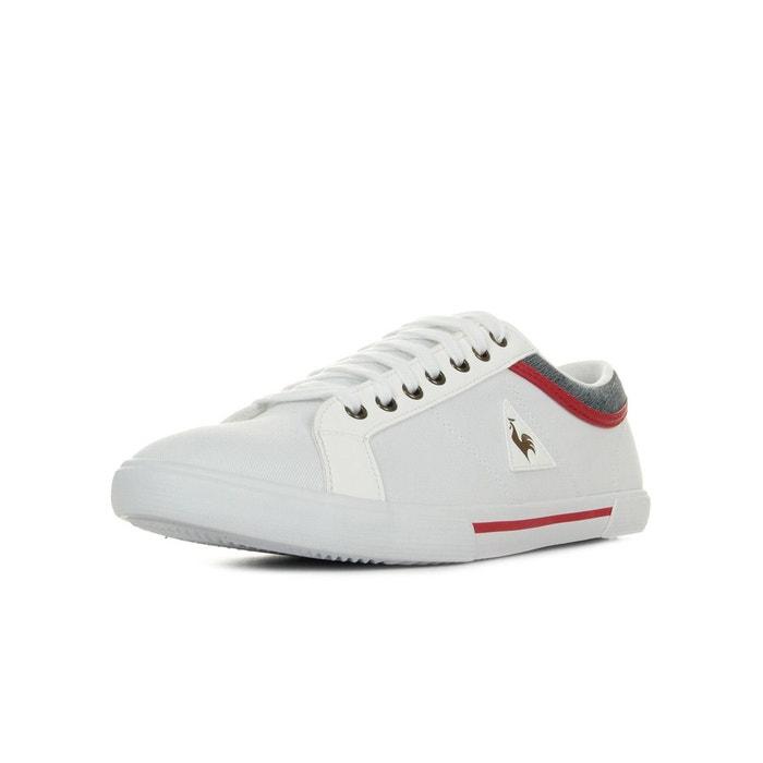 aa536f2f3c323 Saint dantin canvas 2 tones chaussure homme -  cap -blanc blanc rouge bleu  marine Le Coq Sportif La Redoute GH8HUA1Z - lesincorruptibles.fr