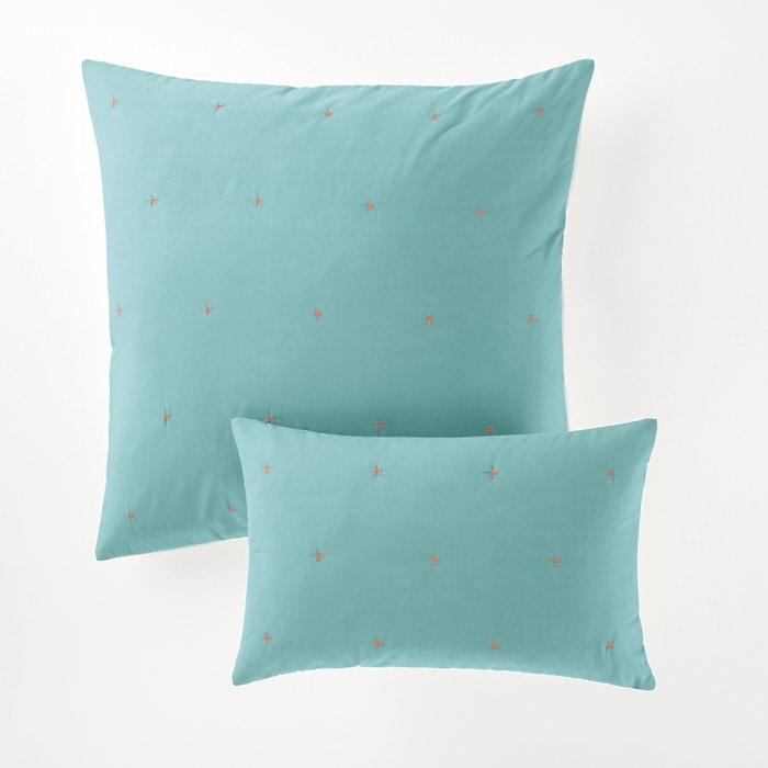 Image Federa per cuscino o guanciale bicolore, FLOKI La Redoute Interieurs