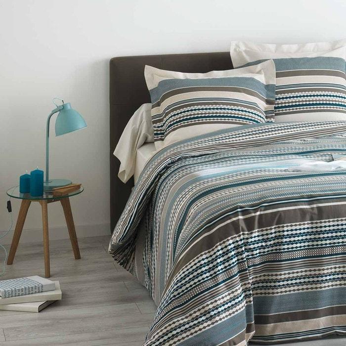 parure de lit mylo bleu tailles et d clinaisons housse de couette 140x200 1 taie 65x65 bleu. Black Bedroom Furniture Sets. Home Design Ideas