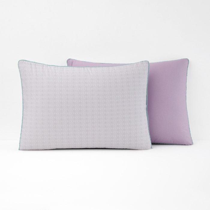 AGRUMO Diamond Print Cotton Pillowcase  La Redoute Interieurs image 0