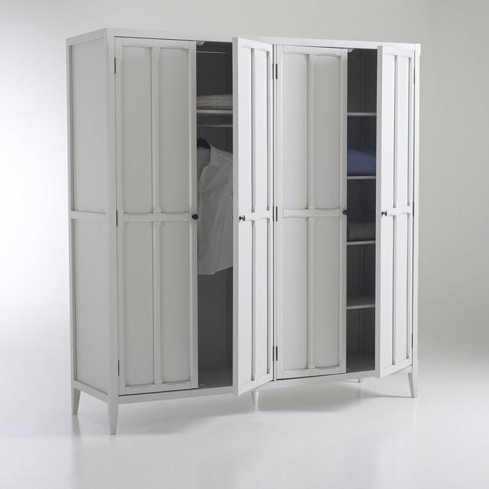 Armoire 4 portes, eugénie La Redoute Interieurs | La Redoute