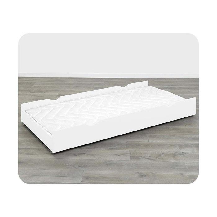 tiroir de lit bois massif 90x200 cm ma chambre d 39 enfant la redoute. Black Bedroom Furniture Sets. Home Design Ideas
