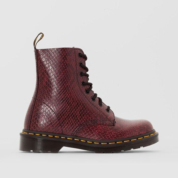 boots cuir lacets pascal bordeaux dr martens la redoute. Black Bedroom Furniture Sets. Home Design Ideas