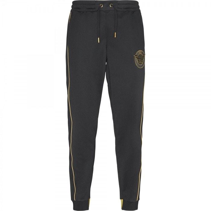 EA7 Emporio Armani Pantalon de survêtement - black Acheter Pas Cher D'origine FaXqdfM