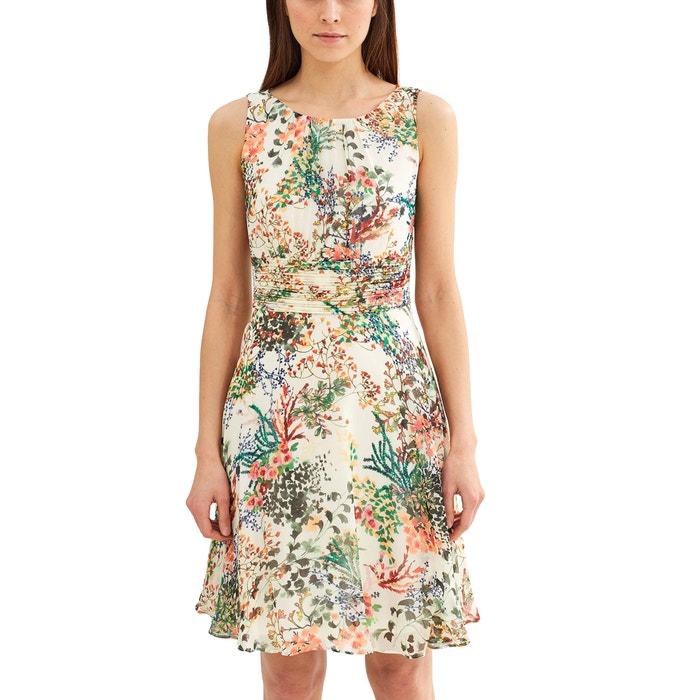 Image Robe sans manches imprimé floral, décolleté dos ESPRIT