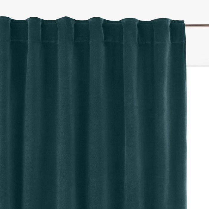 VELVET Hidden Tabs Curtain Panel  La Redoute Interieurs image 0