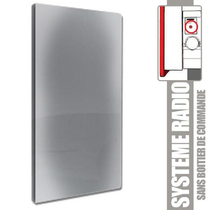 radiateur inertie solaris evolution vertical gris. Black Bedroom Furniture Sets. Home Design Ideas