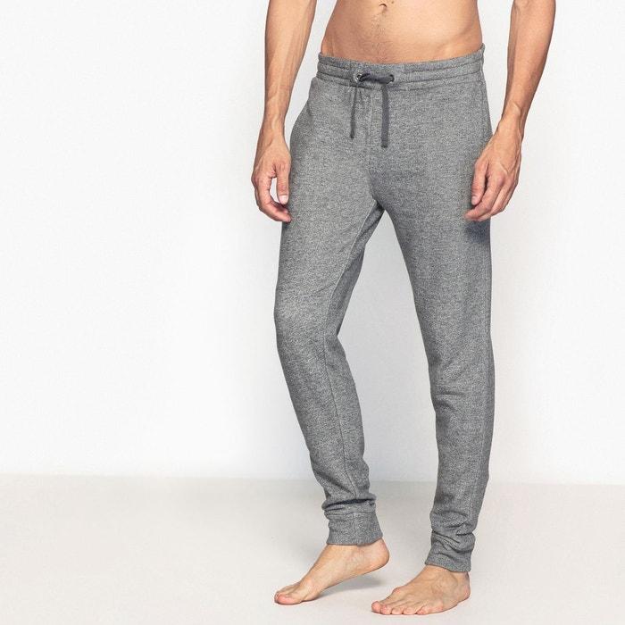 pantalon de pyjama molleton gris chin la redoute collections la redoute. Black Bedroom Furniture Sets. Home Design Ideas