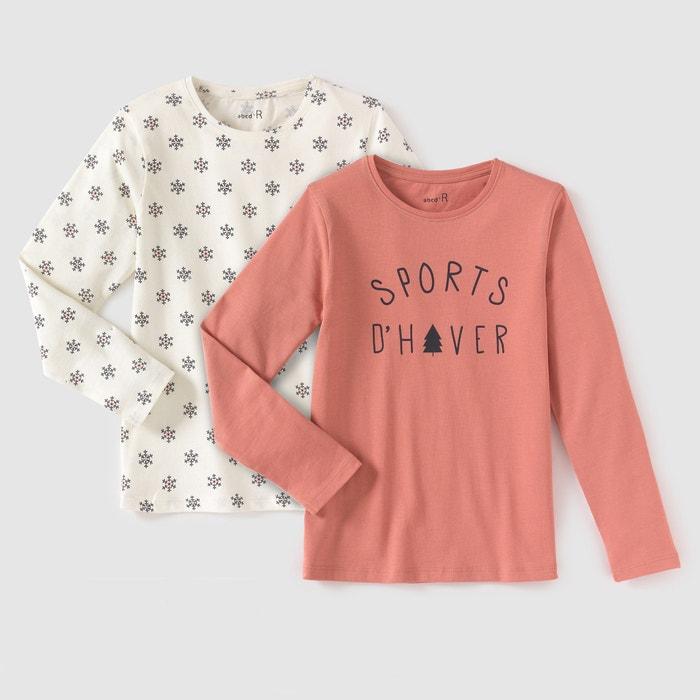 afbeelding T-shirt met lange mouwen (set van 2) R édition