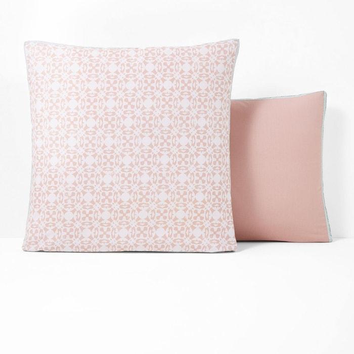 Taie d'oreiller rose | La Redoute