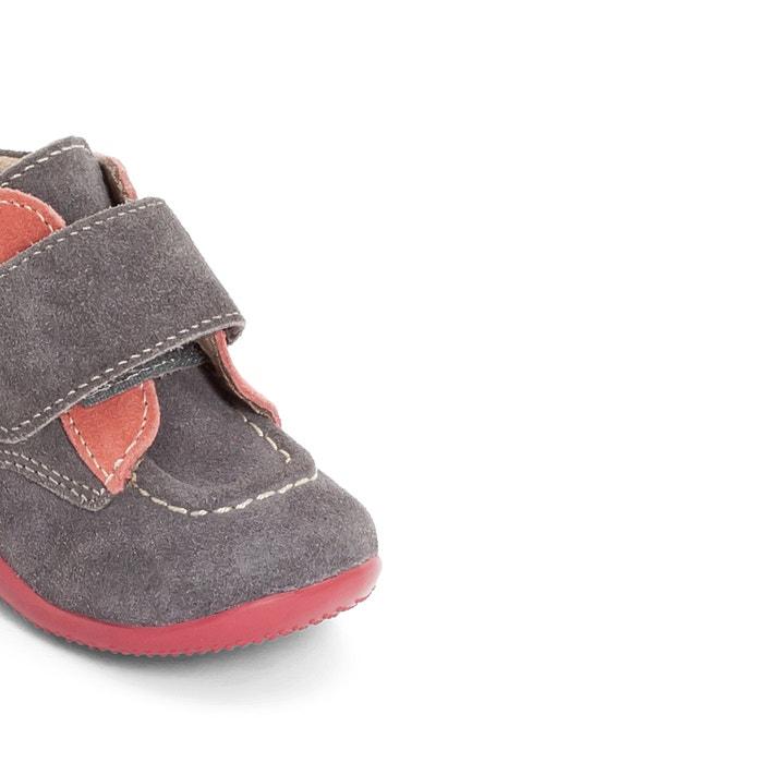 afbeelding Leren schoentjes met klittenband BONO KICKERS