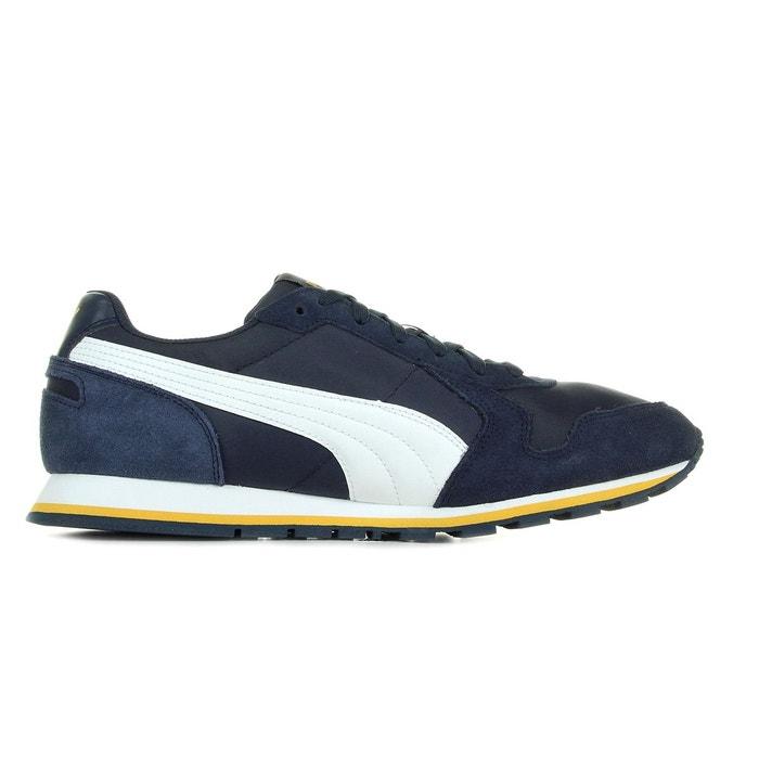 St runner nl bleu marine, blanc, jaune Puma