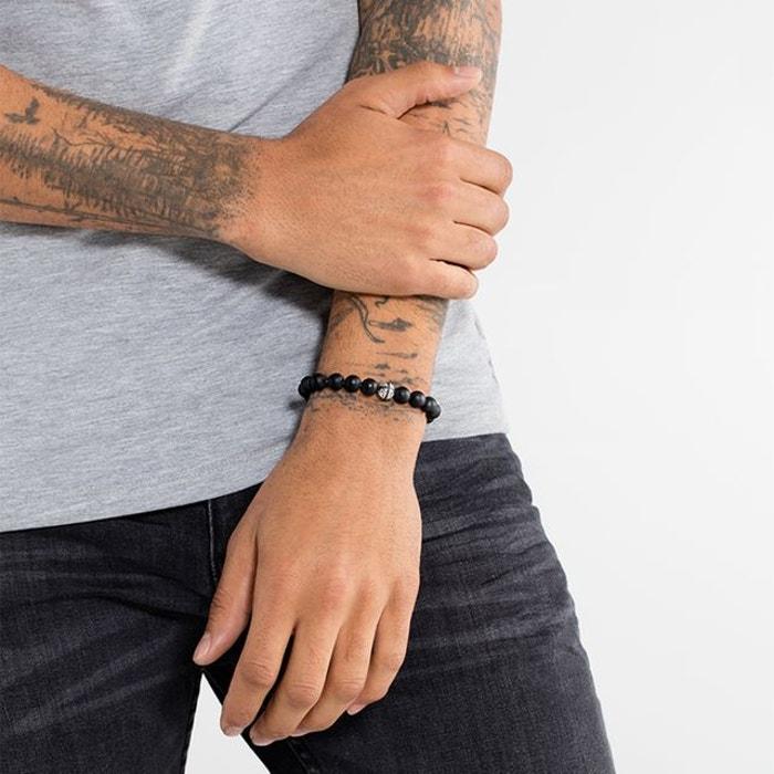 bracelet pour homme thomas sabo. Black Bedroom Furniture Sets. Home Design Ideas