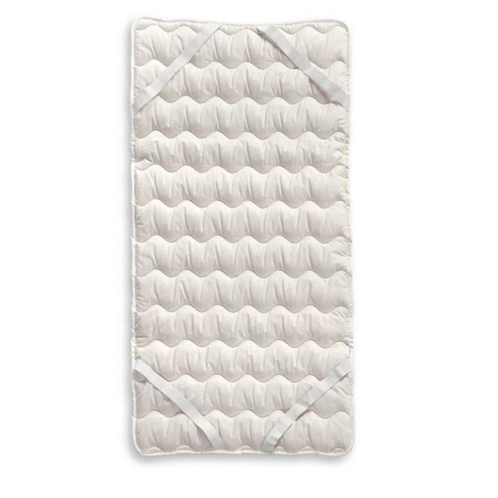 surmatelas en coton bio blanc europe nature la redoute. Black Bedroom Furniture Sets. Home Design Ideas