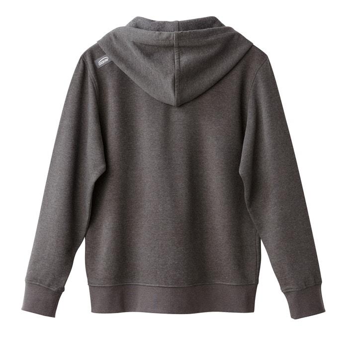 afbeelding Sweater met rits en kap OXBOW