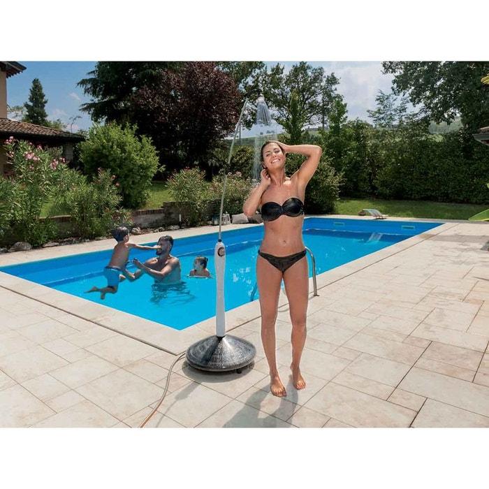 douche solaire pour piscine sunny style gris couleur. Black Bedroom Furniture Sets. Home Design Ideas