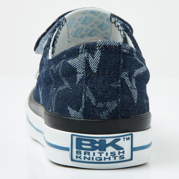 Master lo filles baskets basse bleu marine/bleu clair/etoile British Knights