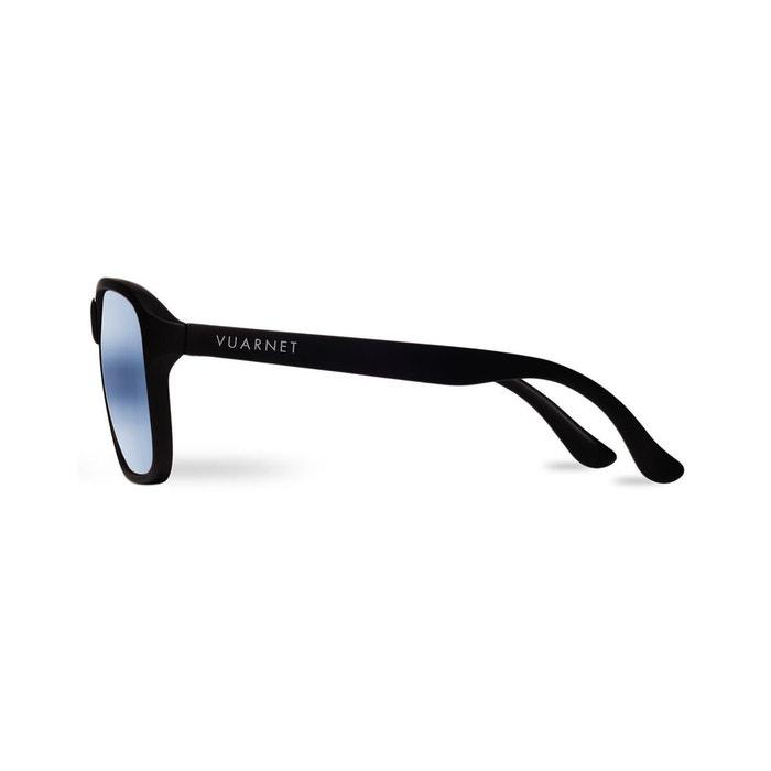 lunettes de soleil noir mat verres blue polarynx vintage. Black Bedroom Furniture Sets. Home Design Ideas