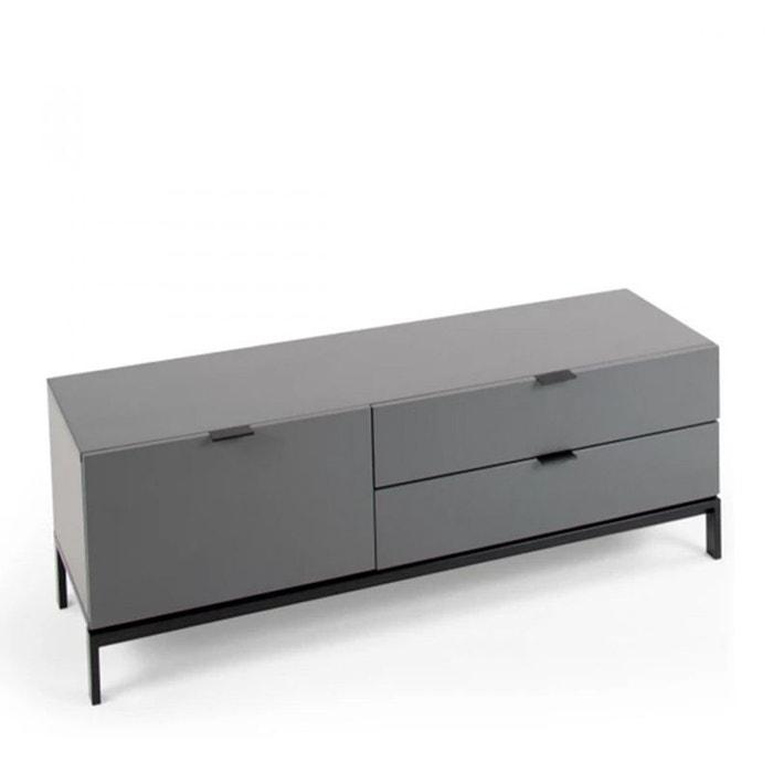 Meuble tv laqu design adrian drawer la redoute - La redoute meuble salon ...