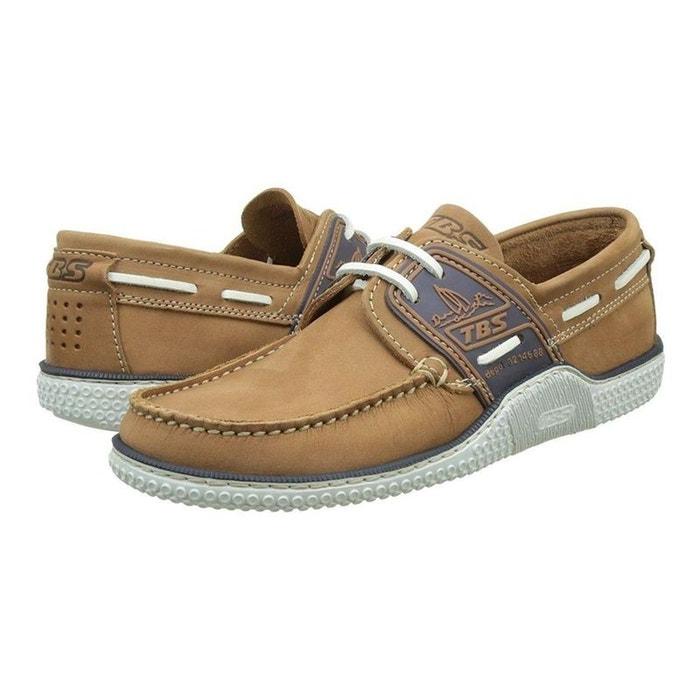 Chaussures à lacets cuir Marron byO3PN