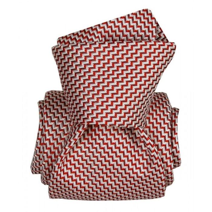 Cravate segni disegni luxe, faite main, barcelone rouge rouge Segni Et Disegni | La Redoute