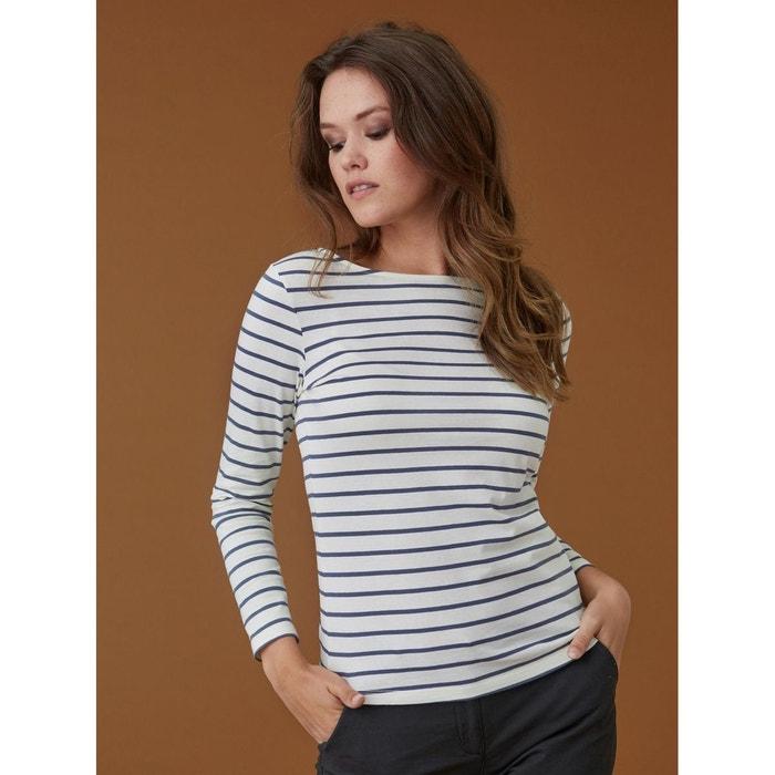 d11367868c19 T-shirt femme marinière coton bio