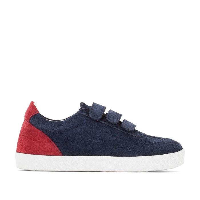 afbeelding Sneakers in onbewerkt leer La Redoute Collections