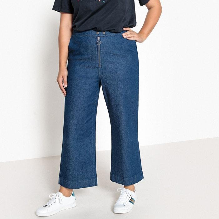 Jean large, taille haute  CASTALUNA image 0