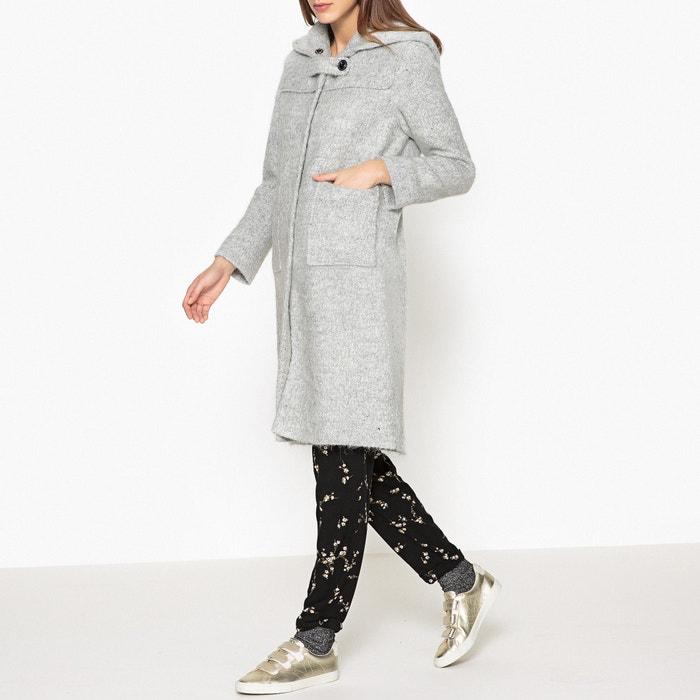 Image Duffle-coat à capuche laine et Alpaga VENTOUX BELLEROSE