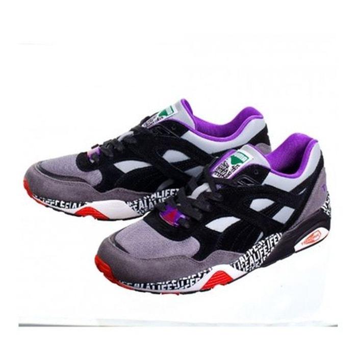 Baskets puma r698 alife x stuckup gris - violet  gris Puma  La Redoute