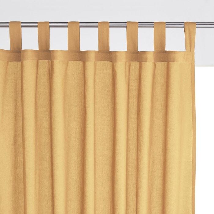 voilage pur coton pattes scenario la redoute. Black Bedroom Furniture Sets. Home Design Ideas