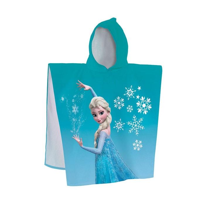 cape de bain frozen 100 coton 320gr m2 bleu disney princess la redoute. Black Bedroom Furniture Sets. Home Design Ideas