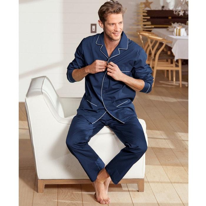 Collections cuello chaqueta Redoute con 243;n Pijama algod La 100 sastre w564Cqx