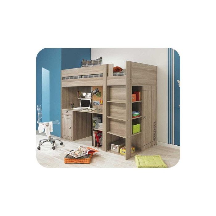 Lit enfant mezzanine cliff 90x200 cm gris clair ma chambre - Chambre enfant la redoute ...