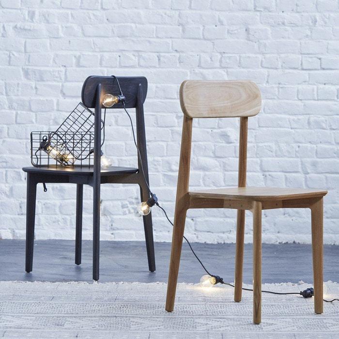 Chaise en bois de teck Jonàk  TIKAMOON image 0