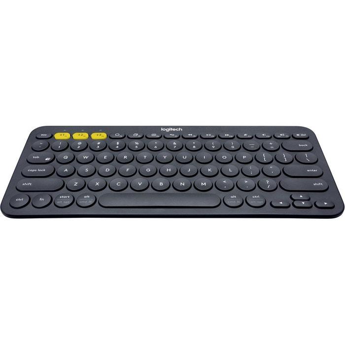 clavier sans fil logitech k380 bluetooth gris gris. Black Bedroom Furniture Sets. Home Design Ideas