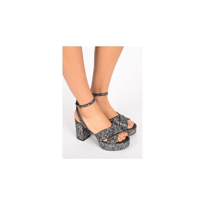 Sandales-astrid noir What For