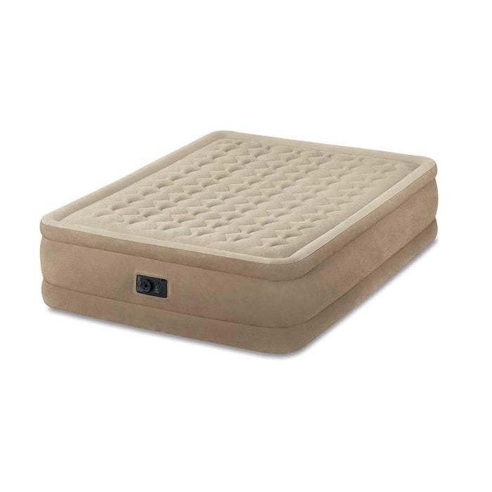 matelas gonflable lectrique ultra plush fiber tech 1 place intex beige intex la redoute. Black Bedroom Furniture Sets. Home Design Ideas