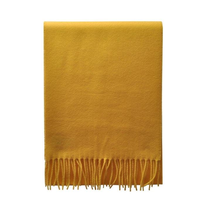 Echarpe en laine moutarde jaune Toutacoo   La Redoute b8390fac299