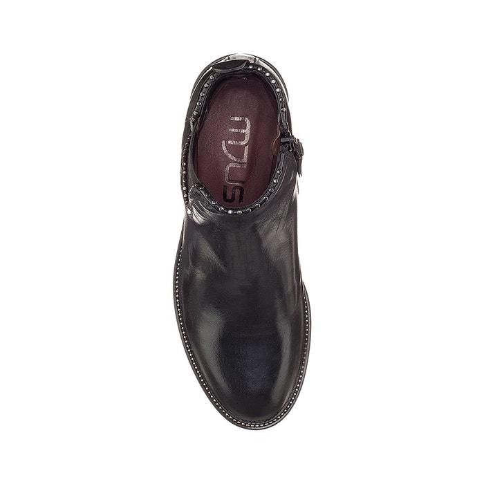 La Cuir Mjus Noir Zarko Boots Chelsea Redoute 7Cw8xBX