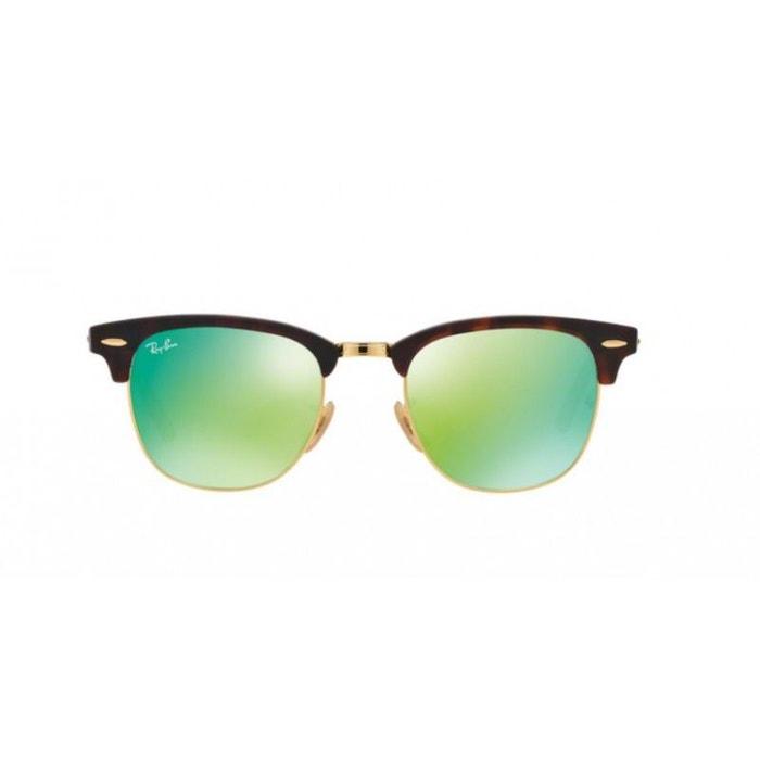 df316bb63d2a9e Lunettes de soleil pour homme ray ban ecaille rb 3016 clubmaster 114519 51 21  vert Ray-Ban   La Redoute
