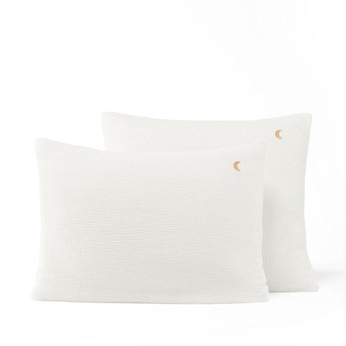 taie d 39 oreiller gaze de coton biologique cuddly am pm. Black Bedroom Furniture Sets. Home Design Ideas