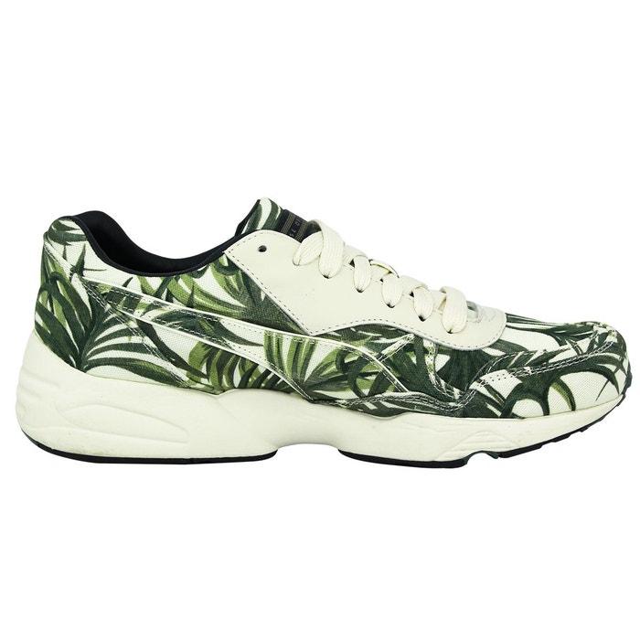 Puma r698 evo x hoh palm chaussures mode sneakers homme vert blanc blanc Puma
