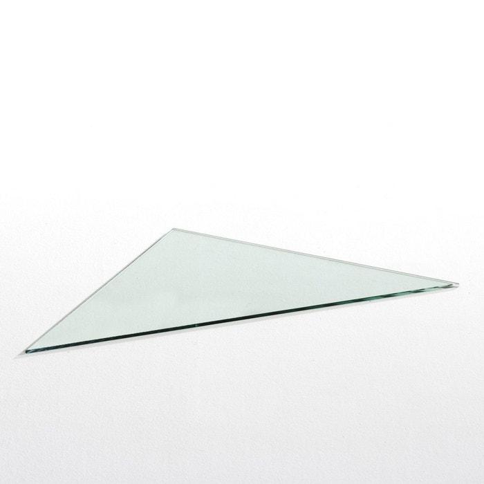 Plateau de bureau d'angle en verre trempé, Fagda La Redoute Interieurs