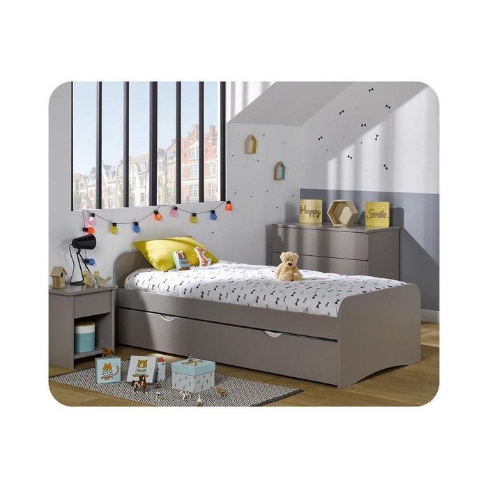 Lit enfant twist 90x190 cm beige clair ma chambre d 39 enfant - Chambre enfant la redoute ...