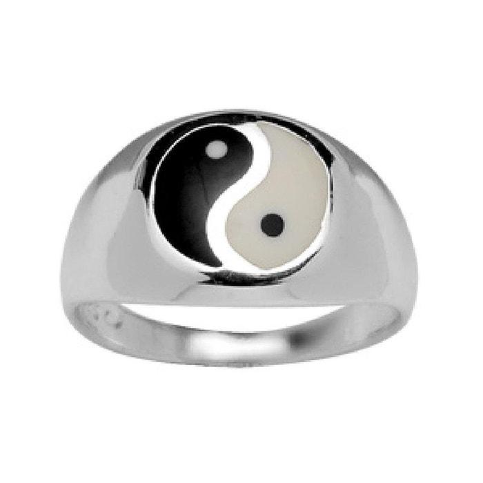 bague argent ying et yang